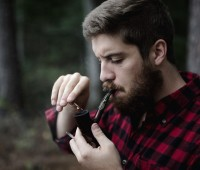 Men's Hairstyles With Beards combination