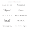 Luxury jewelry brands