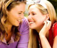 lesbian flirting