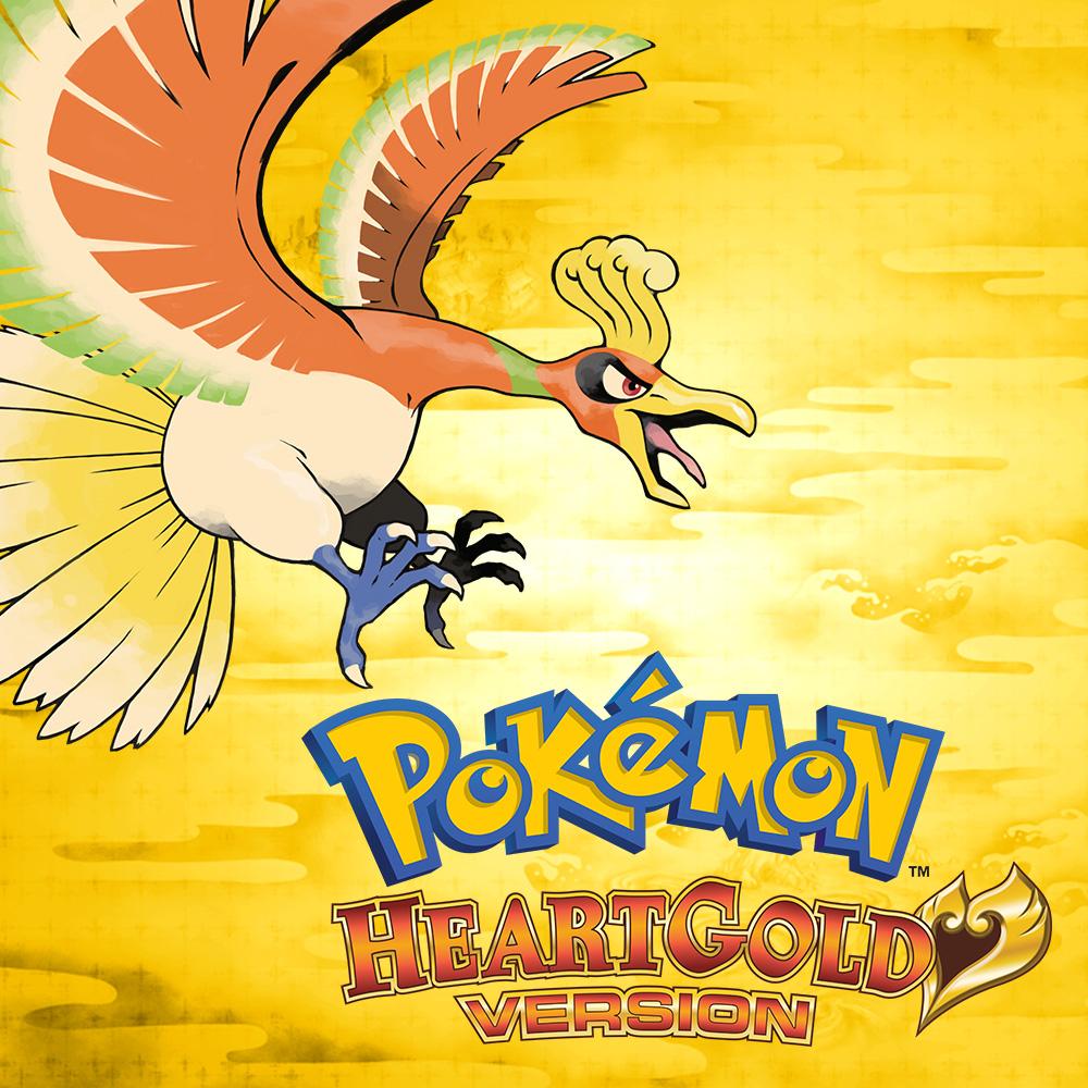 Pokemon HeartGold GBA