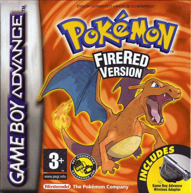 Pokemon Fire Red GBA