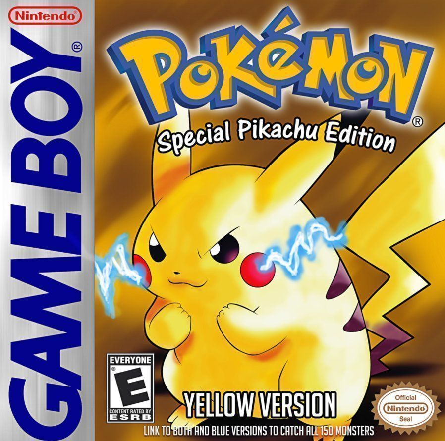 Pokemon Yellow - Best Pokemon games for GBA