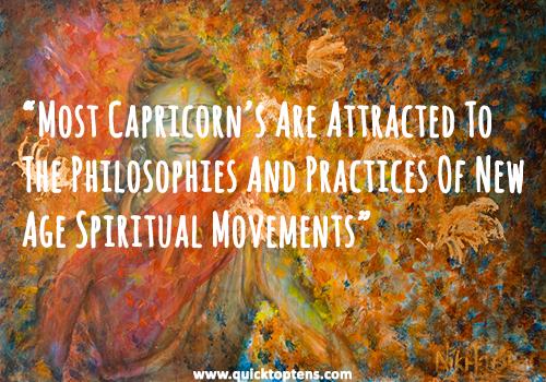 capricorn new age spiritual traits