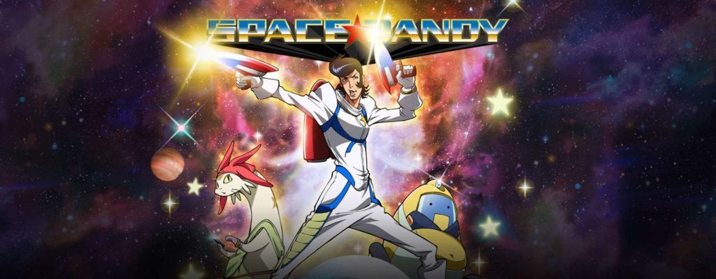 anime english dubbed - Space Dandy