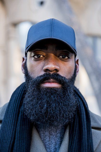 black men beard - Ducktail Beard