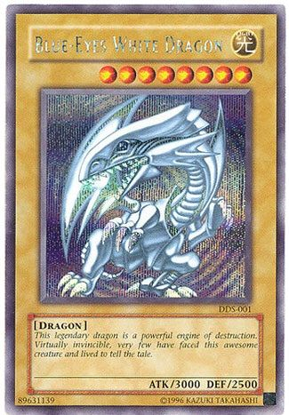 BLUES EYES WHITE DRAGON - Best Yugioh God Cards