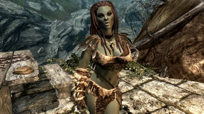 Skyrim Spouses - Borgakh the Steel Heart