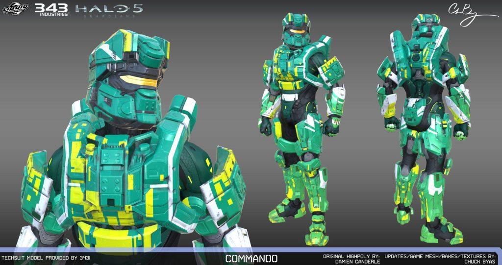 Commando Armour