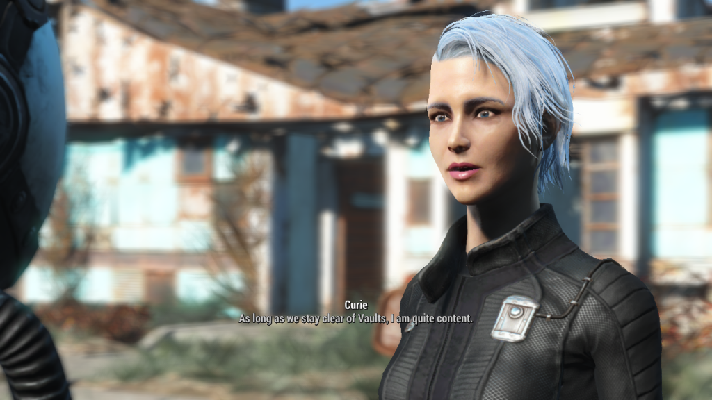 Curie - Best Fallout 4 Companions