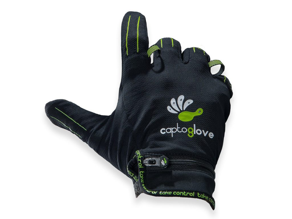 Gaming gears -CAPTOGLOVE Wearable Gaming Hand-Machine Interface.