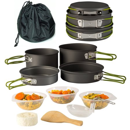 gifts for adventure lovers - Outdoor Cooking Set